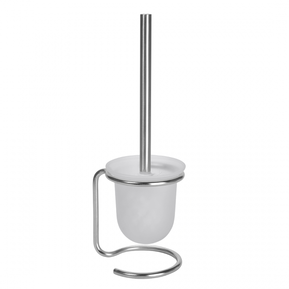 NEO: Toilet brush holder free standing, white brush