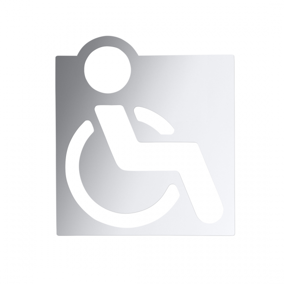 Icon - Disabled toilets, polished
