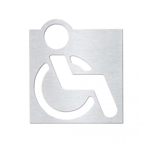 Icon - Disabled toilets, matt