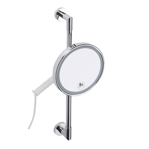 Cosmetic bath mirror with LED MH42B, 010458