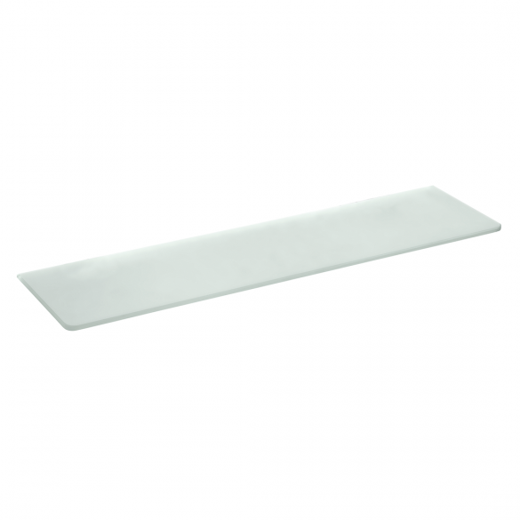 glass for glass shelf for 104102042, 104102212, 132102042, 104102045, 600 mm, matt, without holes