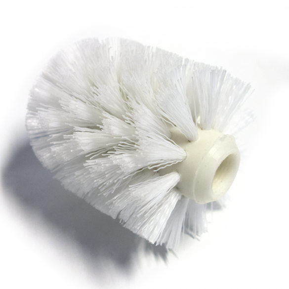 Spare WC brush without handle for ALFA, PLAZA, 102413012 - white
