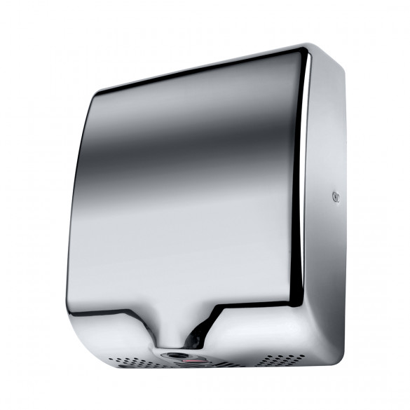 Automatic hand dryer-1000W, SS polished, HEPA Filter