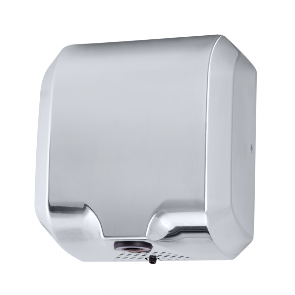 Automatic hand dryer 1800W, st. steel polished