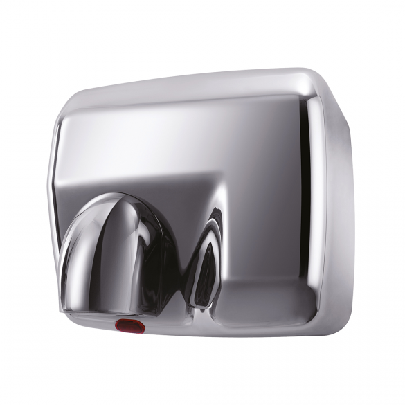 Automatic hand dryer 2300W, st. steel polished
